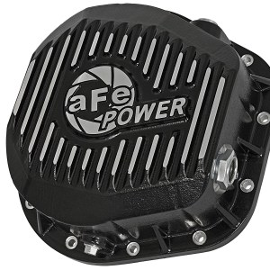 aFe POWER 46-70022 Rear Differential Cover, Machined Fins; Pro Series-0