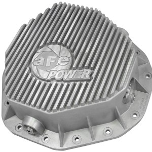 aFe POWER 46-70090 Rear Differential Cover, Raw Finish; Street Series-0