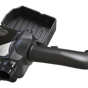 S&B Cold Air Intake for 2017-2018 Ford Powerstroke 6.7L (Dry Extendable Filter)-0