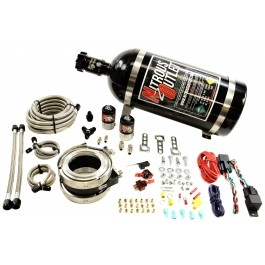 """Nitrous Outlet Interspooler 4"""" Dual Stage Dry Nitrous Plate System-0"""