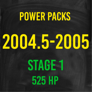 Stage 1 *525HP* Hardway Performance Power Packs for 2004.5-2005 Cummins-0