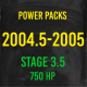 Stage 3.5 *750HP* Hardway Performance Power Packs for 2005 Cummins-0