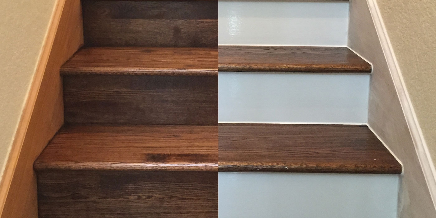 Painting Your Hardwood Stair Risers | Stairs Covered In Wood | Round | Interior | Metal | Random | Luxury