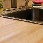 Diy Sink Install With Butcher Block Countertops Hardwood Reflections