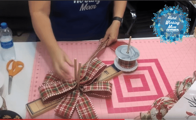 How to Make a Bow Topper Step 1