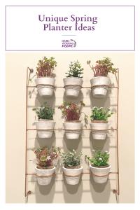 5 Unique Spring Planter Ideas