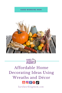 Affordable Home Decorating Ideas Using Wreaths and Décor