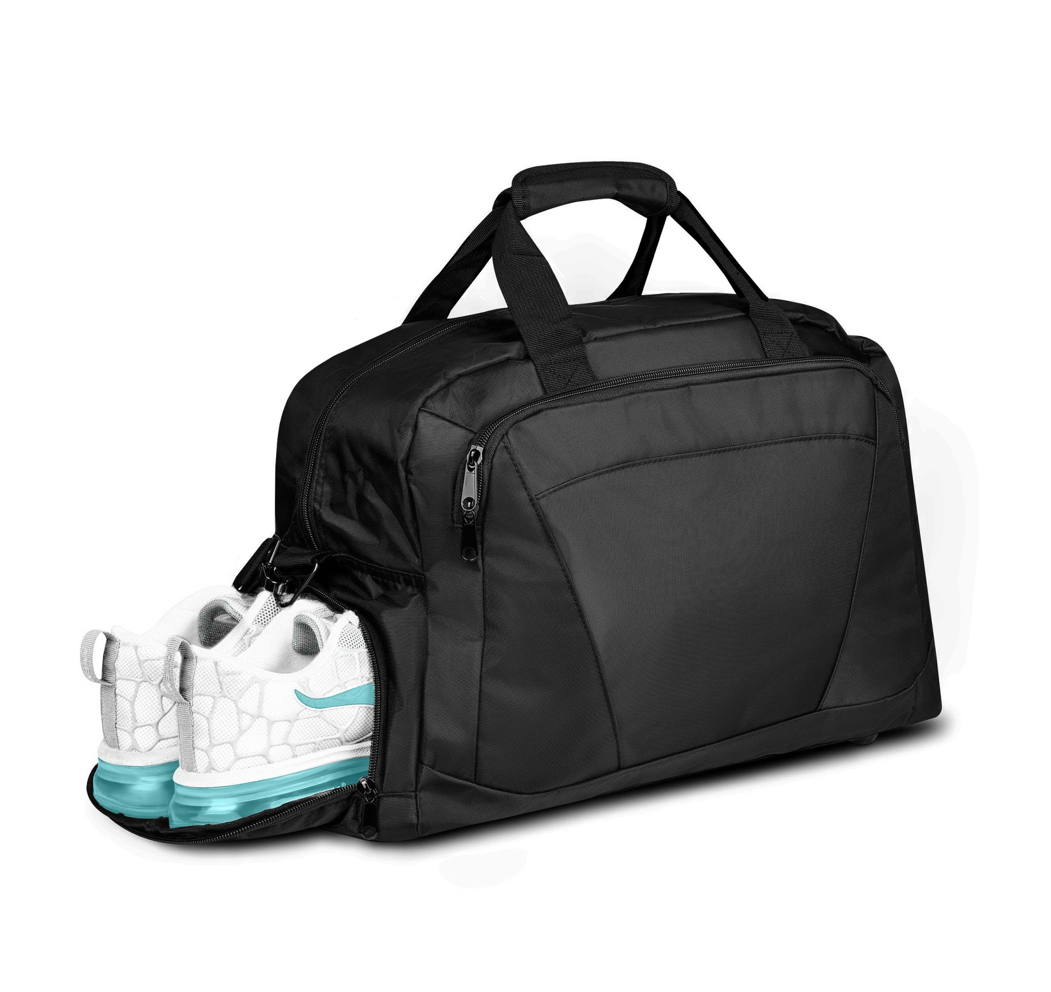 Hard Work Sports Gym Bag 2.0 Duffle Bag with Shoe Compartment
