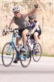 Mike rocks the bike