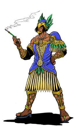 Aztec Flapper