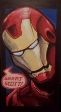 Iron Man Acryllic (2011)