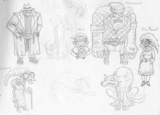 Hardacse first sketches