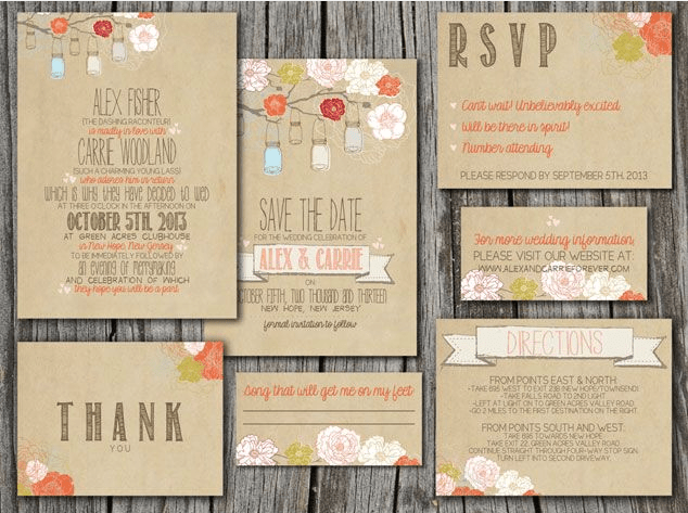 Invitation Online | Maine Barn Wedding