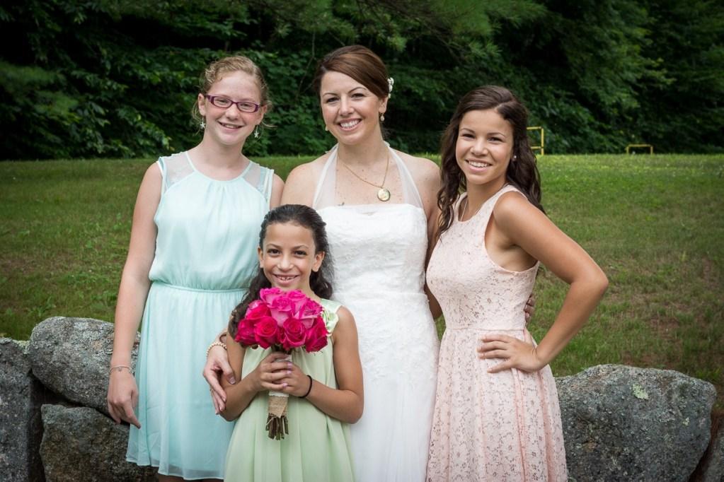 hardy farm maine wedding photo