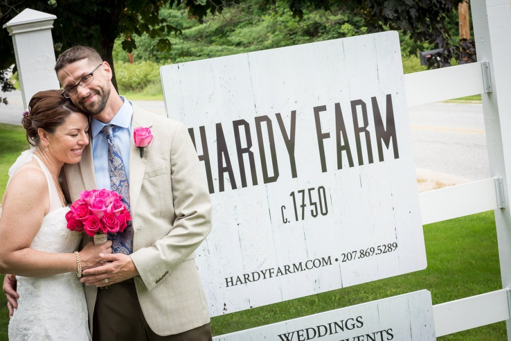 hardy farm maine barn wedding