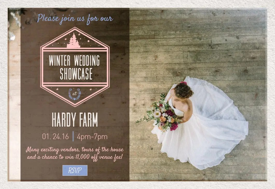Winter Showcase at Hardy Farm