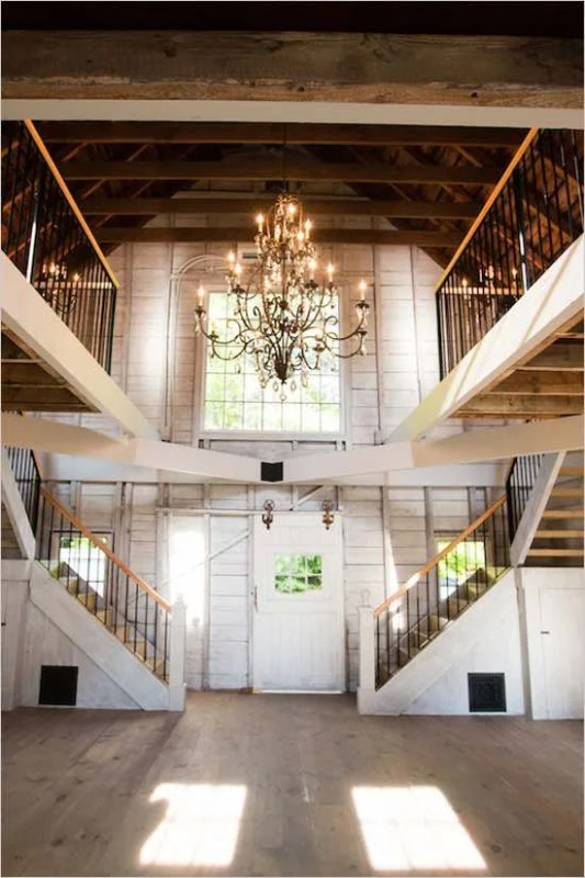 Two+Staircases+in+Barn