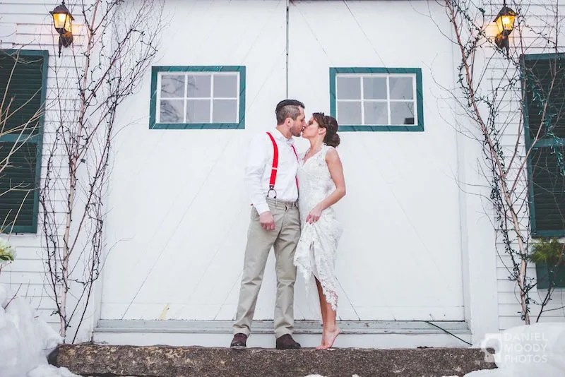 Sarah & Rocky_Hardy Farm_ME Barn wedding