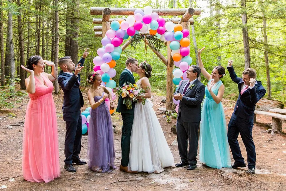 Amy Amp Nick S Maine Barn Wedding Summer Weddings In Maine