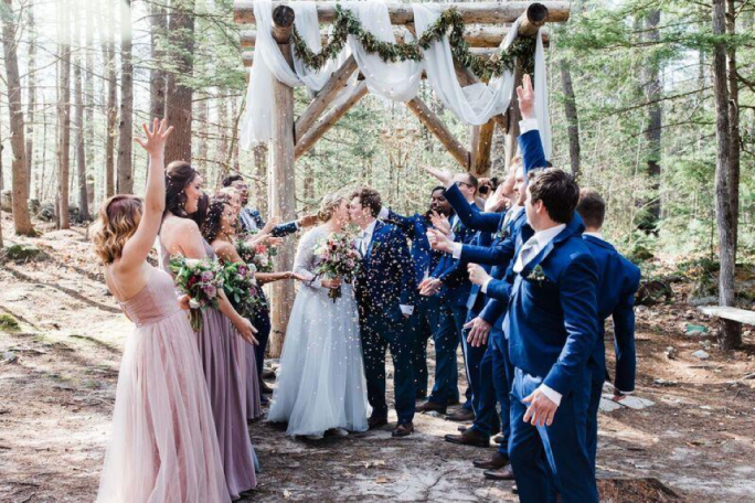 Giving Wedding Gifts at Maine Weddings