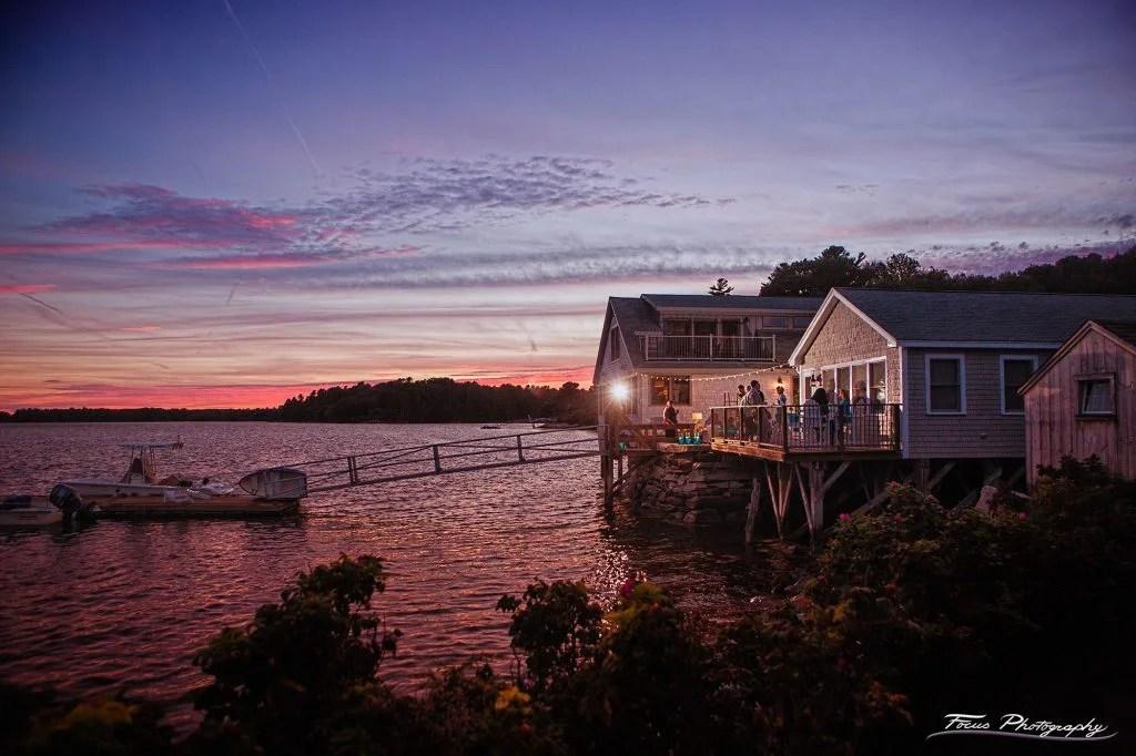 Boathouse Maine Wedding Venue