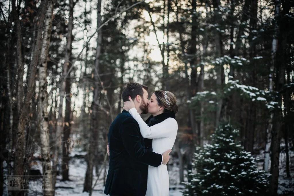 Unique winter wedding