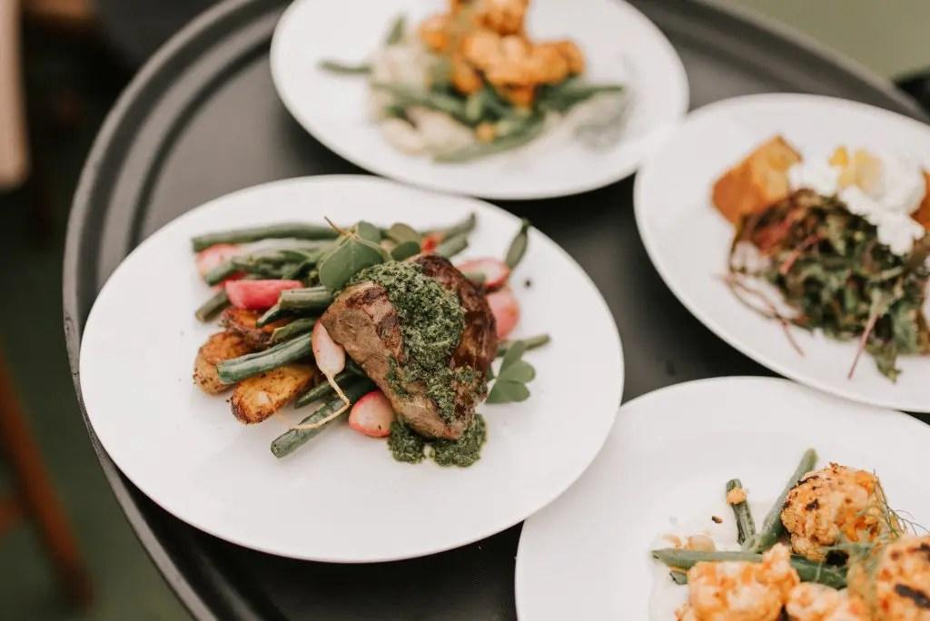 elegant maine wedding catering - dandelion catering