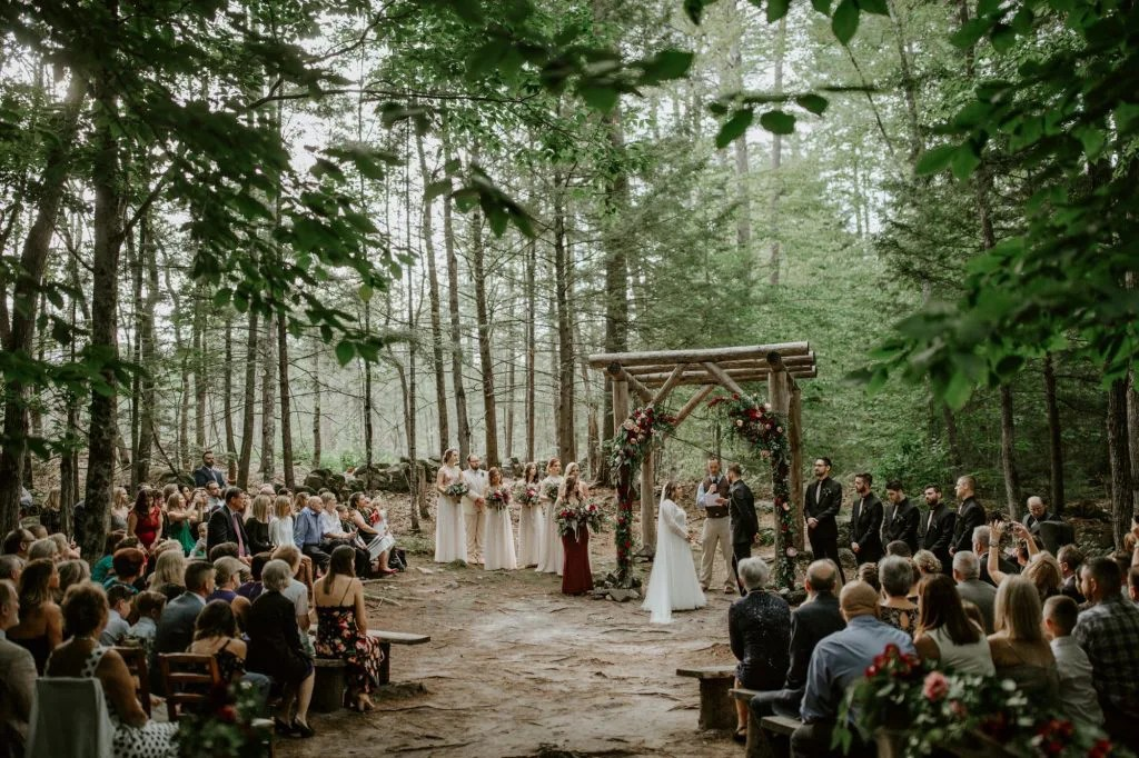 Wedding in the Maine Woods