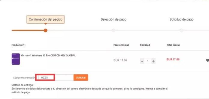Discount code Windows 10 Office
