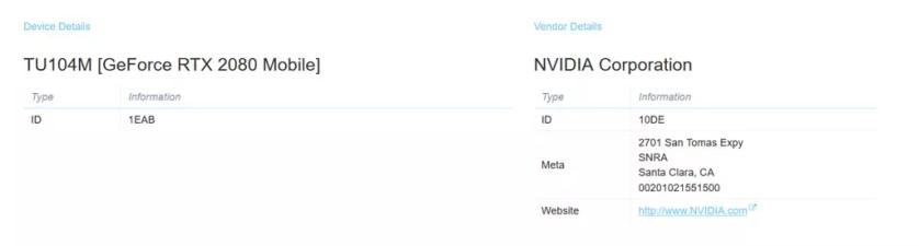 Portátiles gaming con Nvidia Turing equiparán Geforce Rtx 2080