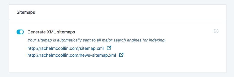 harebrane design sitemap settings