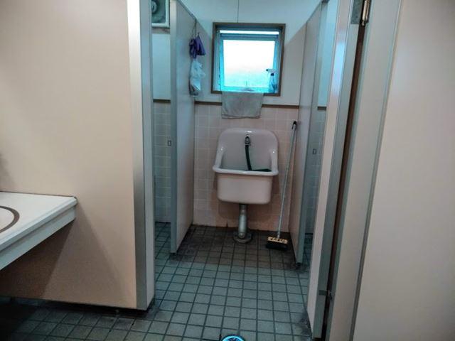 マザーランド ふれあいプラザのトイレ