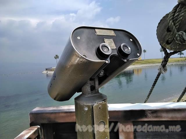 カピタン号の望遠鏡