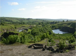A view of Harehope Quarry