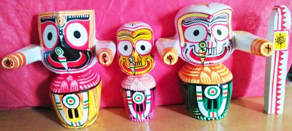 Jagannath Baladeva Subadra Sudarshan 5 Inches