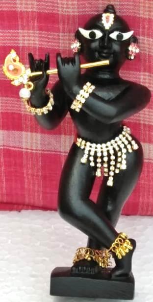 Radharaman Marble Deity 6 Inches