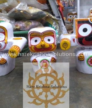 Jagannath Baladeva Subadra and Sudarshan 12 inches