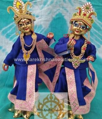 Krishna Balaram 10 inches Blue Dress (3)