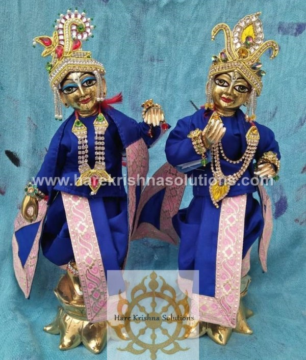 Krishna Balaram 10 inches PlainBlue (3)