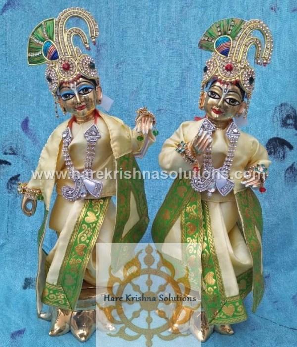 Krishna Balaram 10 inches PlainLightYellow (1)