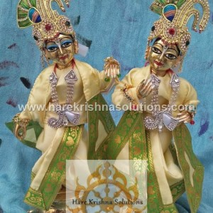 Krishna Balaram 10 inches PlainLightYellow (2)