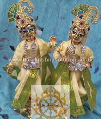 Krishna Balaram 10 inches PlainLightYellow (2)