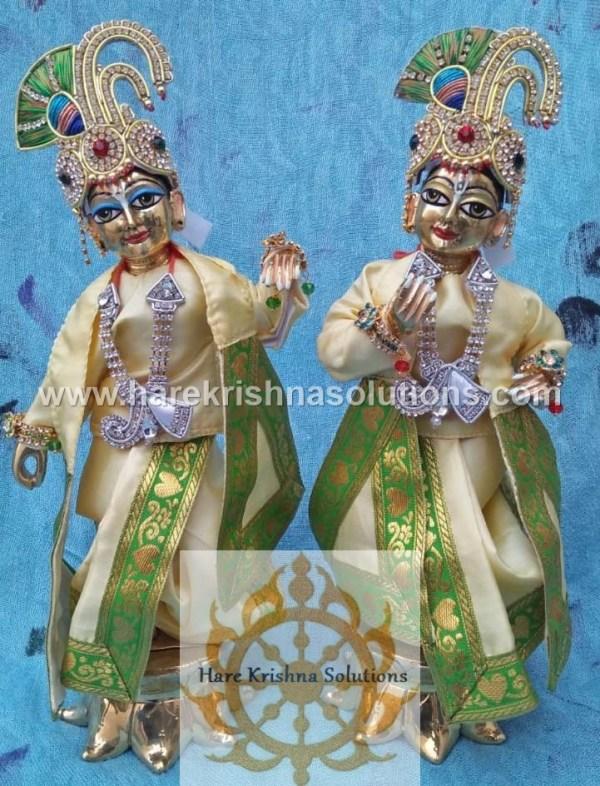 Krishna Balaram 10 inches PlainLightYellow (3)