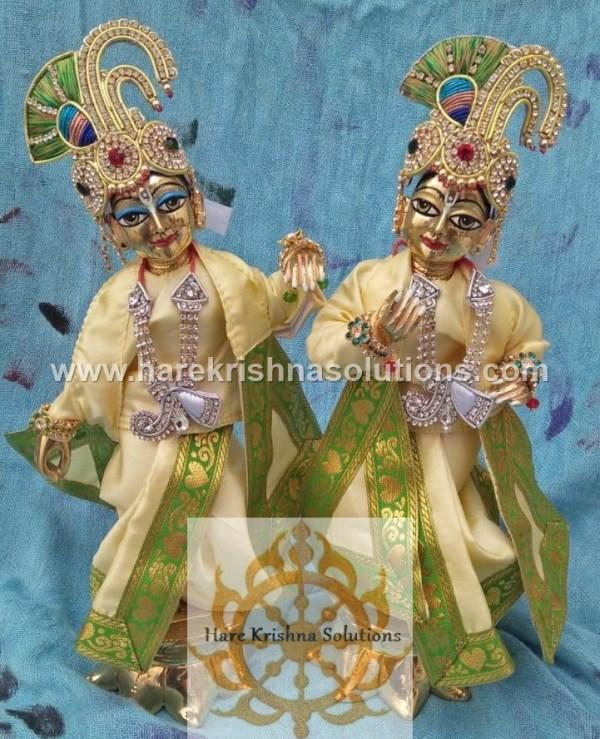 Krishna Balaram 10 inches PlainLightYellow (5)