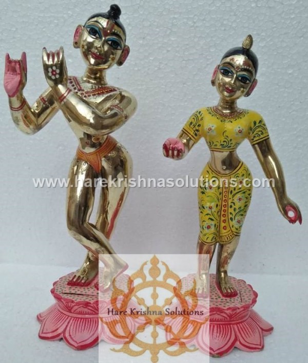 Radha Krishna Yellow 12 inches (2)