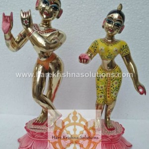 Radha Krishna Yellow 12 inches (2)