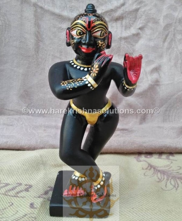 Black Krishna Sidelong Glancing (12)