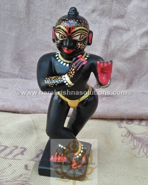 Black Krishna Sidelong Glancing (4)
