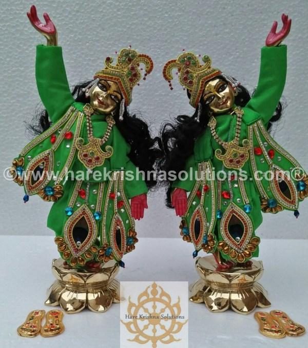 Gaura Nitai 12 inches Green (3)
