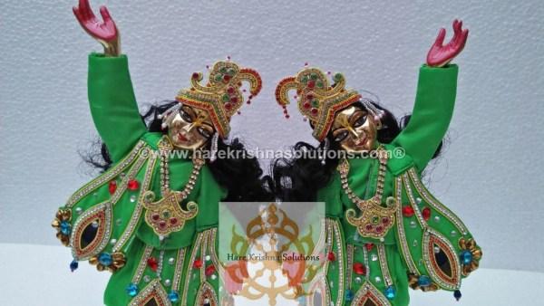 Gaura Nitai 12 inches Green (5)